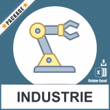 Base adresses emails industrie