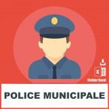 E-mails police municipale