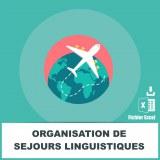 E-mails des organisations de séjours linguistiques