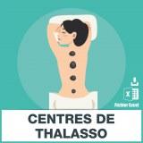 Adresses emails centres thalassothérapie