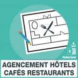 Adresses emails agencement hotels cafés restaurants