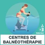 Base adresse e-mail centre balnéothérapie