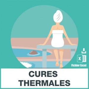 E-mails des cures thermales