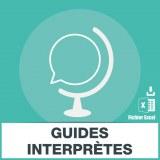 Emails guides touristiques et guides interpretes