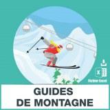 Adresses e-mails guide de montagne